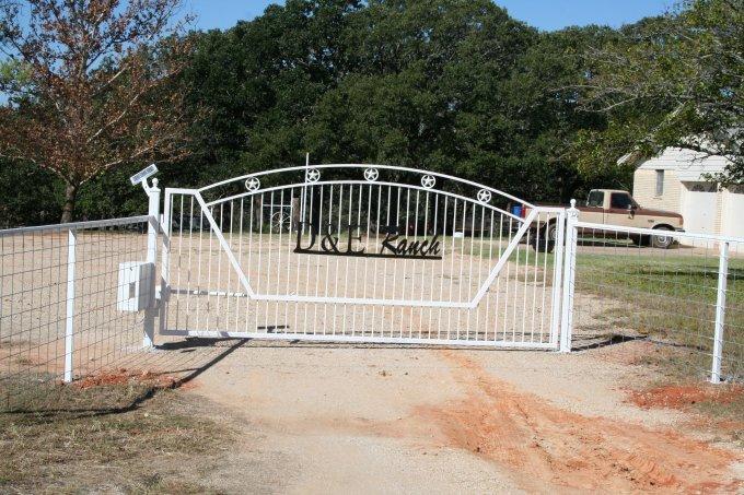 Pipe Fence - Massey Gates